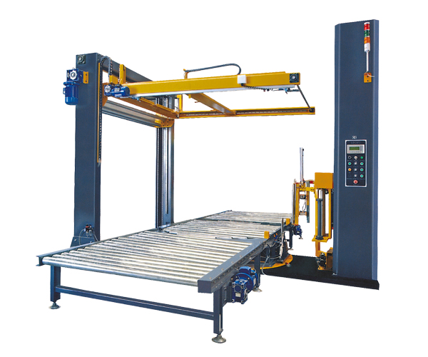 SCC-2000F    Full automatic online film winding machine