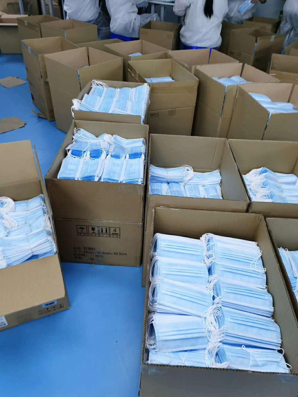 口罩纸箱包装封口