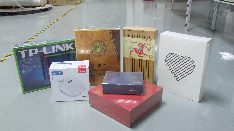 彩盒收缩包装应用