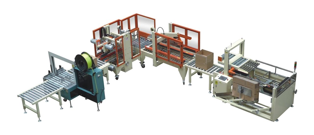自动化包装生产线-标准型全自动包装线