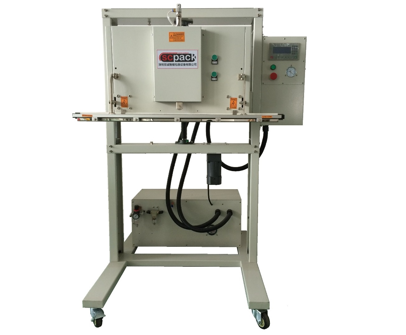 SC-800A外抽式真空包装机 (立式)